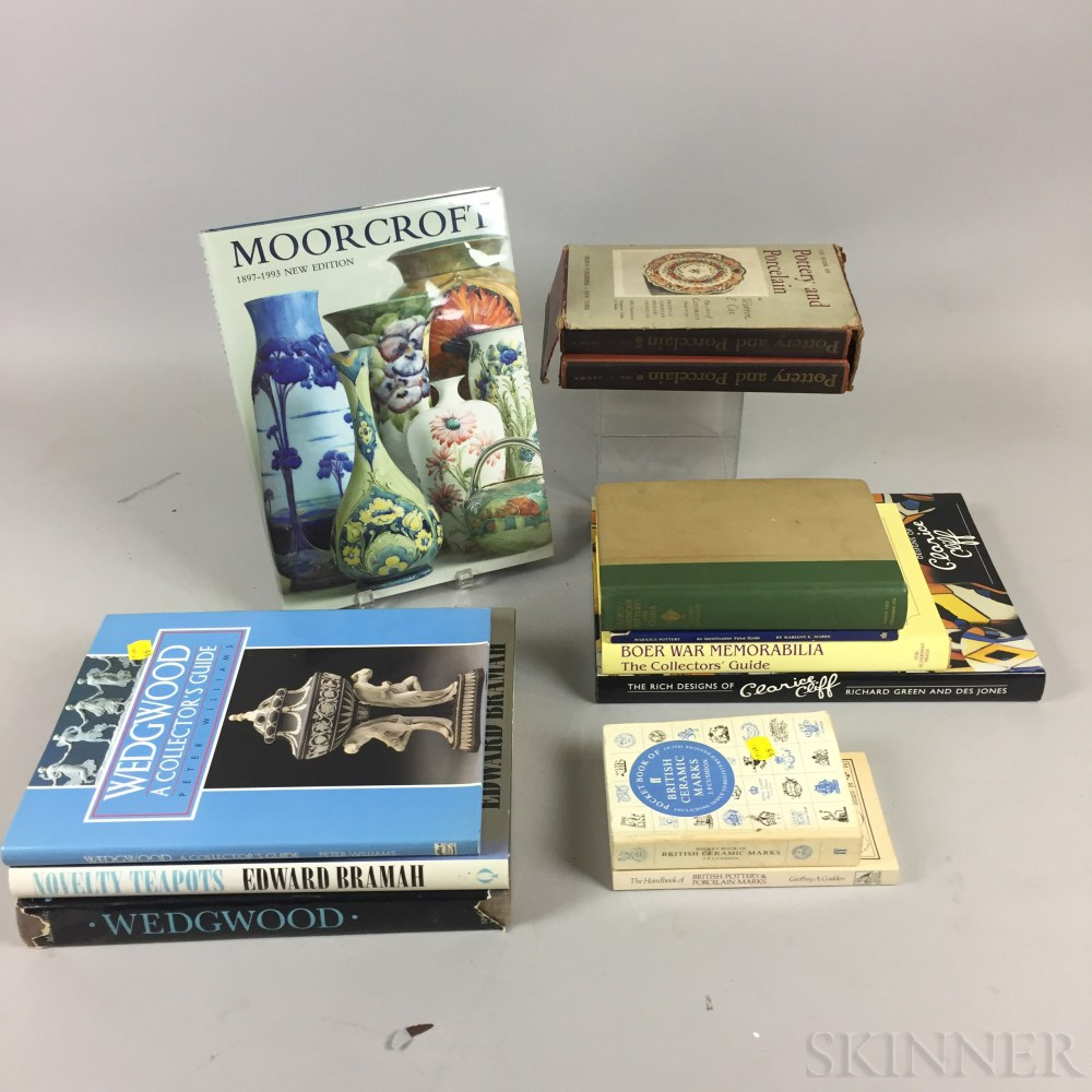 Twenty-five Mostly Ceramic-related Reference Books