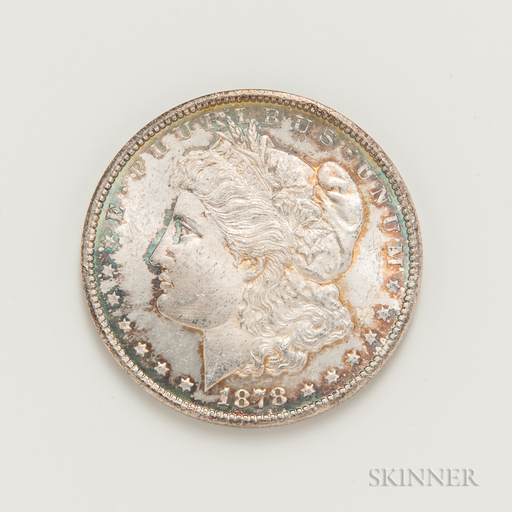 1878-CC Morgan Dollar.     Estimate $200-400