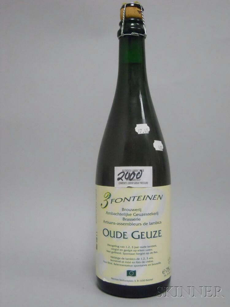 Drie Fonteinen Oude Geuze 2000