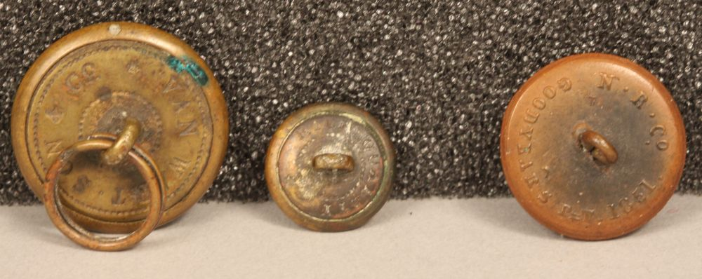Civil War-era Buttons | Sale Number 2802T, Lot Number 1258 | Skinner