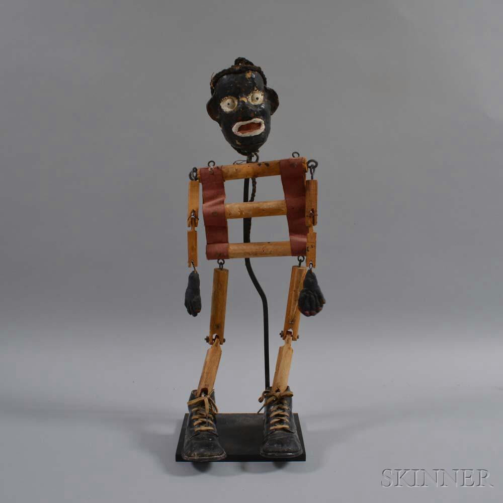 Plaster Marionette of a Man