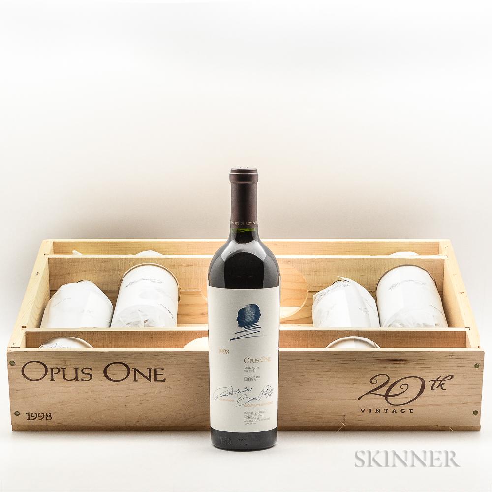 Opus One 1998, 5 bottles