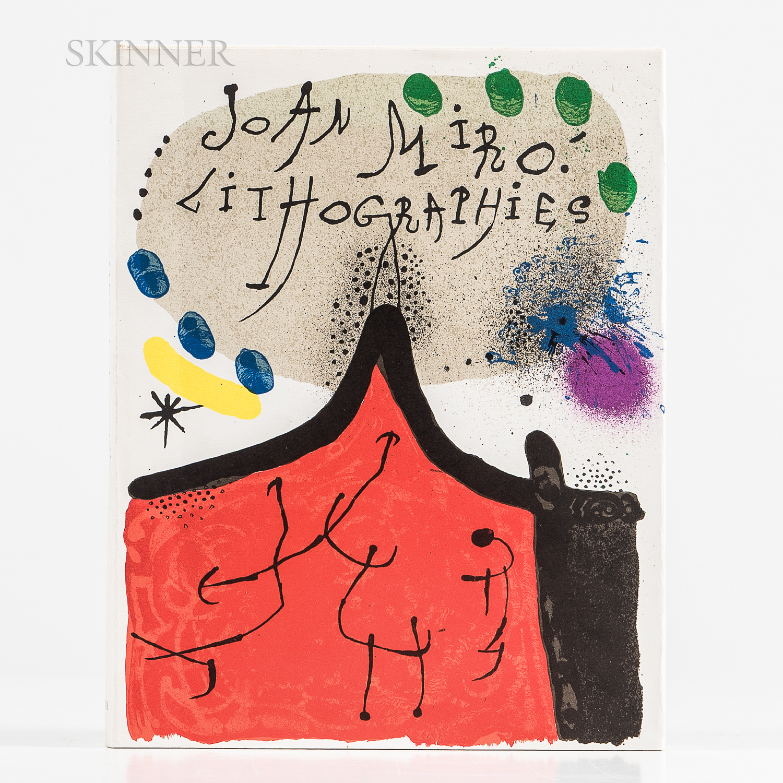 Joan Miró (Spanish, 1893-1983)      Joan Miró Lithographies