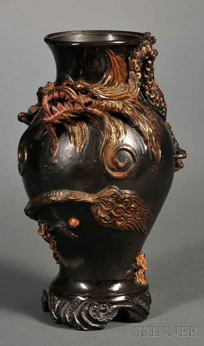 Wedgwood Harry Barnard Decorated Earthenware Vase