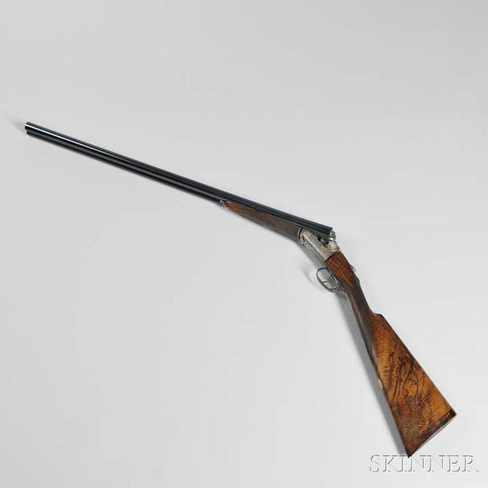 David McKay Brown 12 Bore Side-by-side Shotgun