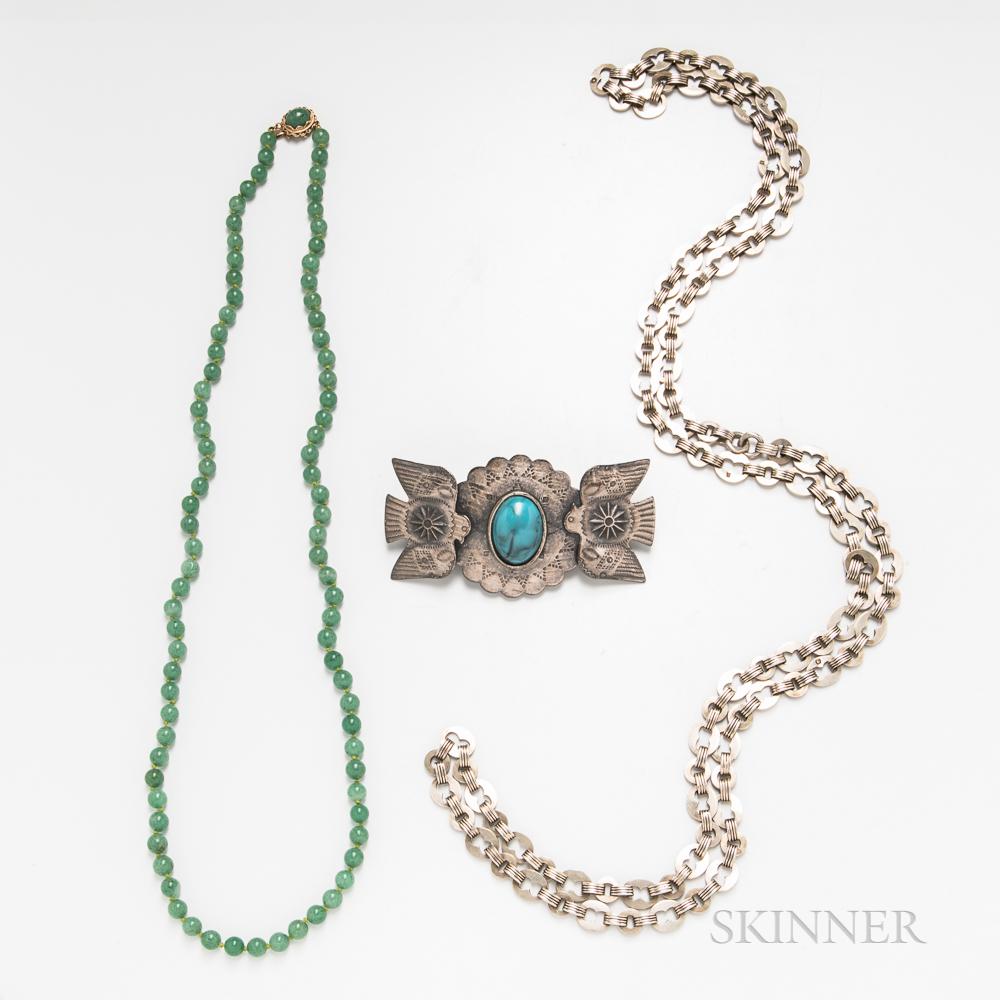 Three Pieces of Vintage Jewelry