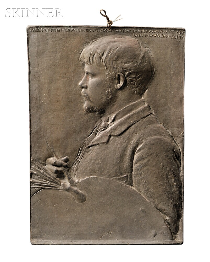 Augustus Saint-Gaudens (American, 1848-1907)      Jules Bastien-Lepage