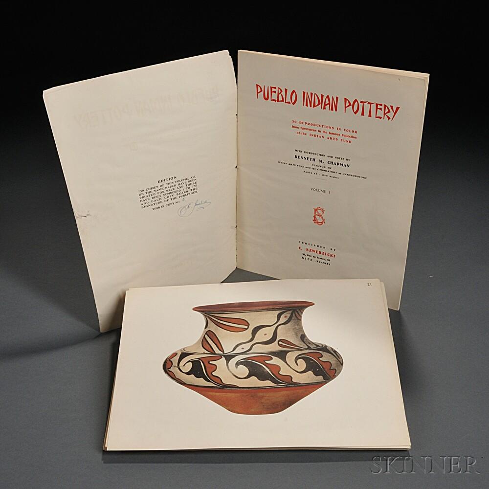 Chapman, Kenneth M. (1875-1968) Pueblo Indian Pottery.