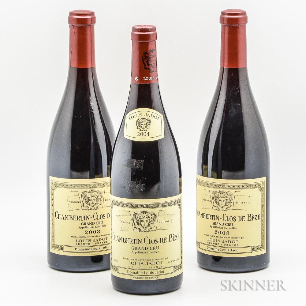 Louis Jadot Chambertin Clos de Beze, 3 bottles