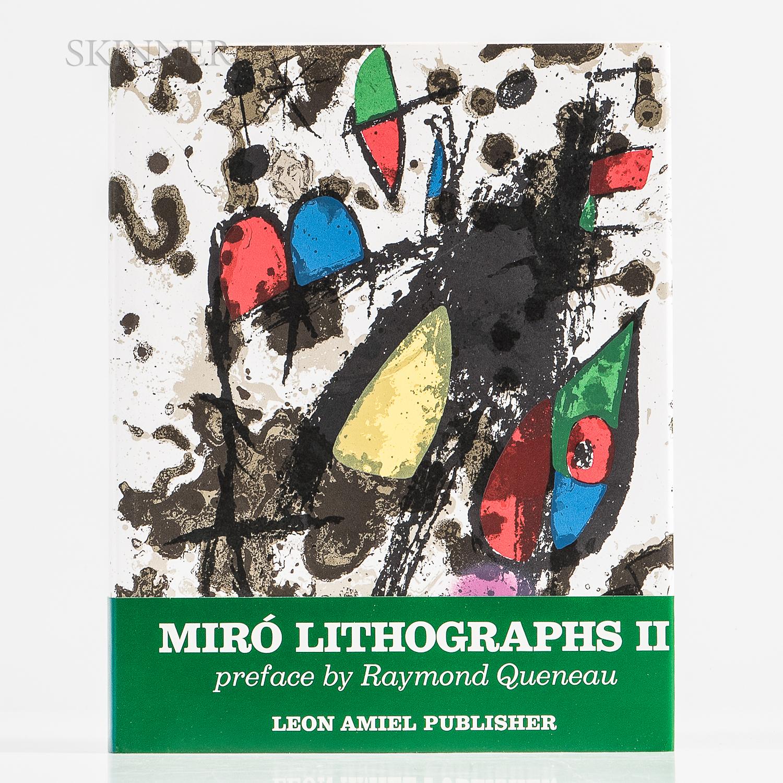 Joan Miró (Spanish, 1893-1983)      Joan Miró Lithographs