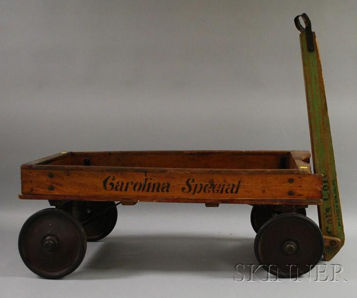 Kiddie Gym Co. Cals Colt, Carolina Special Wagon.