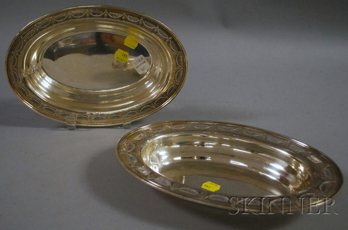 Frank Whiting Sterling Silver Covered Entree Dish