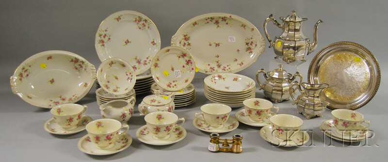 Group of Tableware and Decorative Items