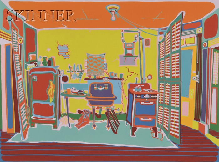 Clayton Pond (American, b. 1941)      Rent Controlled Kitchen