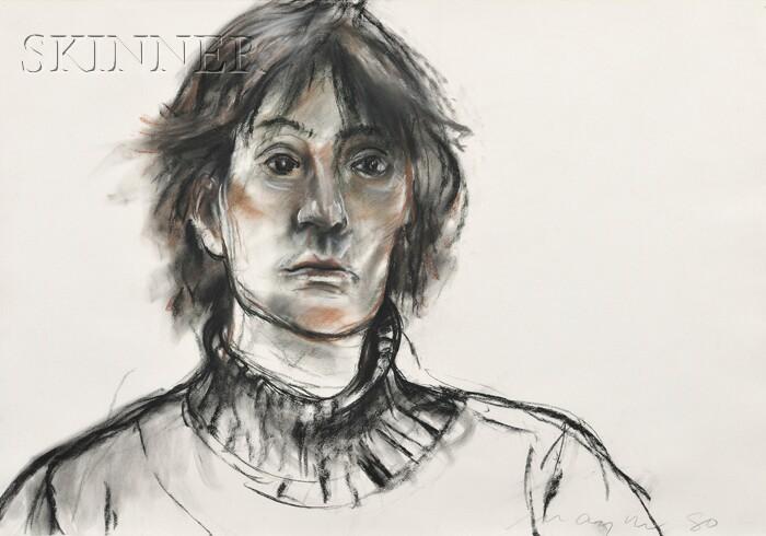 Michael Burton Mazur  (American, 1935-2009)      Portrait of Missy Daniels I