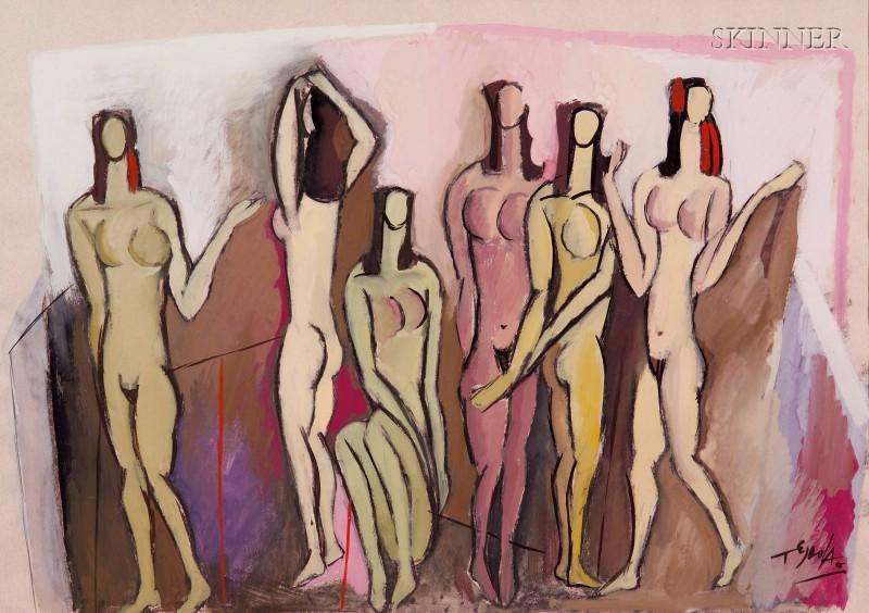 Luis Tejada (Chilean, b. 1940)      Nudes
