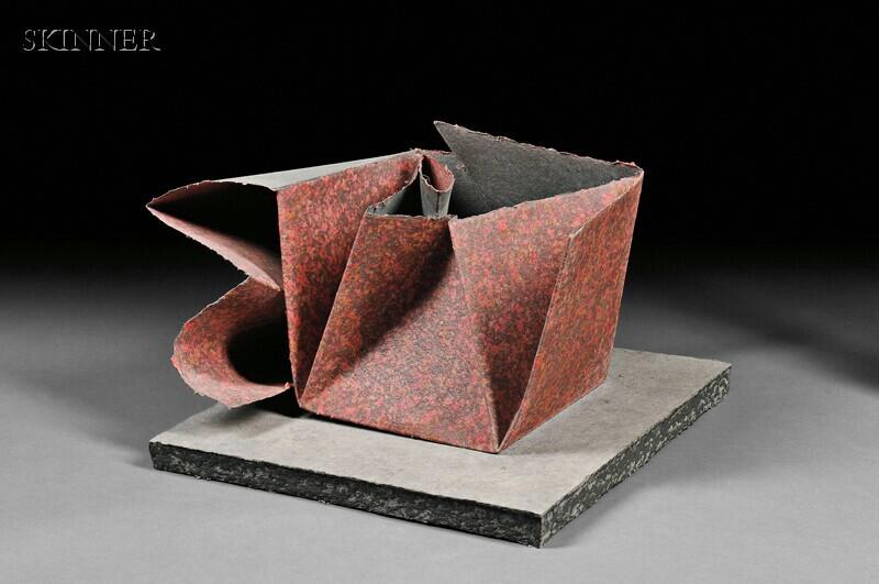 Sir Anthony Caro (British, b. 1924)      Paper Sculpture No. 22-Speckle