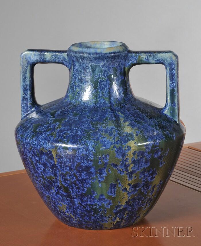 Pierrefonds Art Pottery Vase
