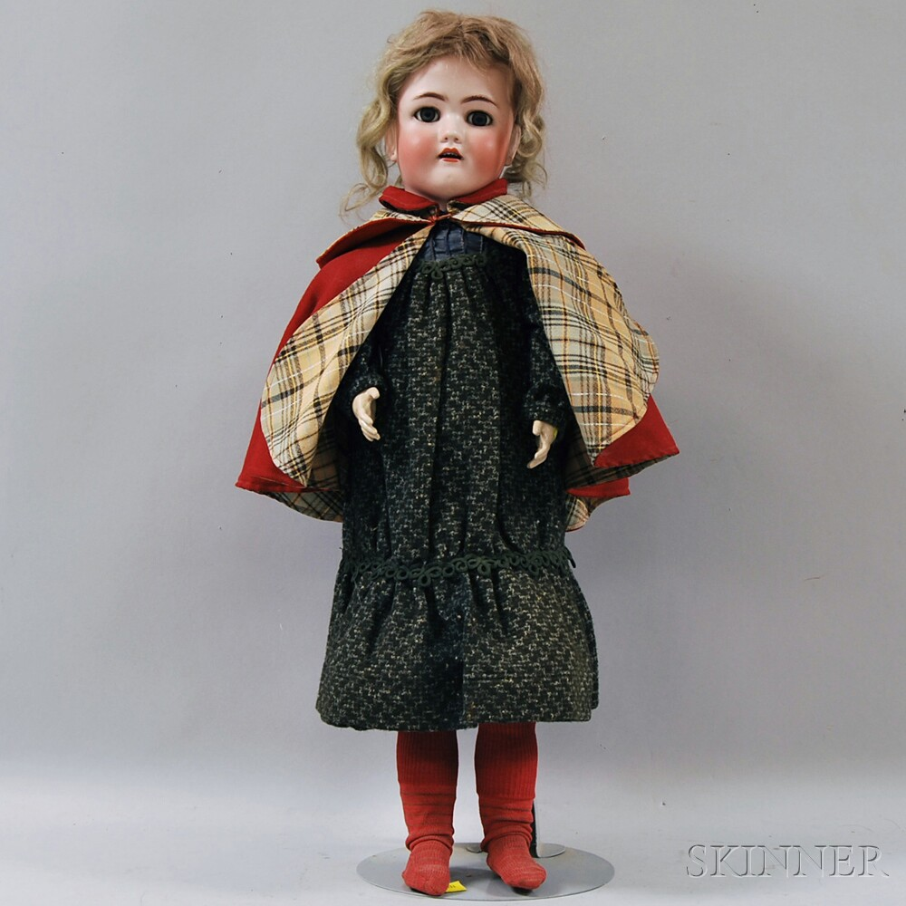 Large Simon & Halbig Bisque Head Doll