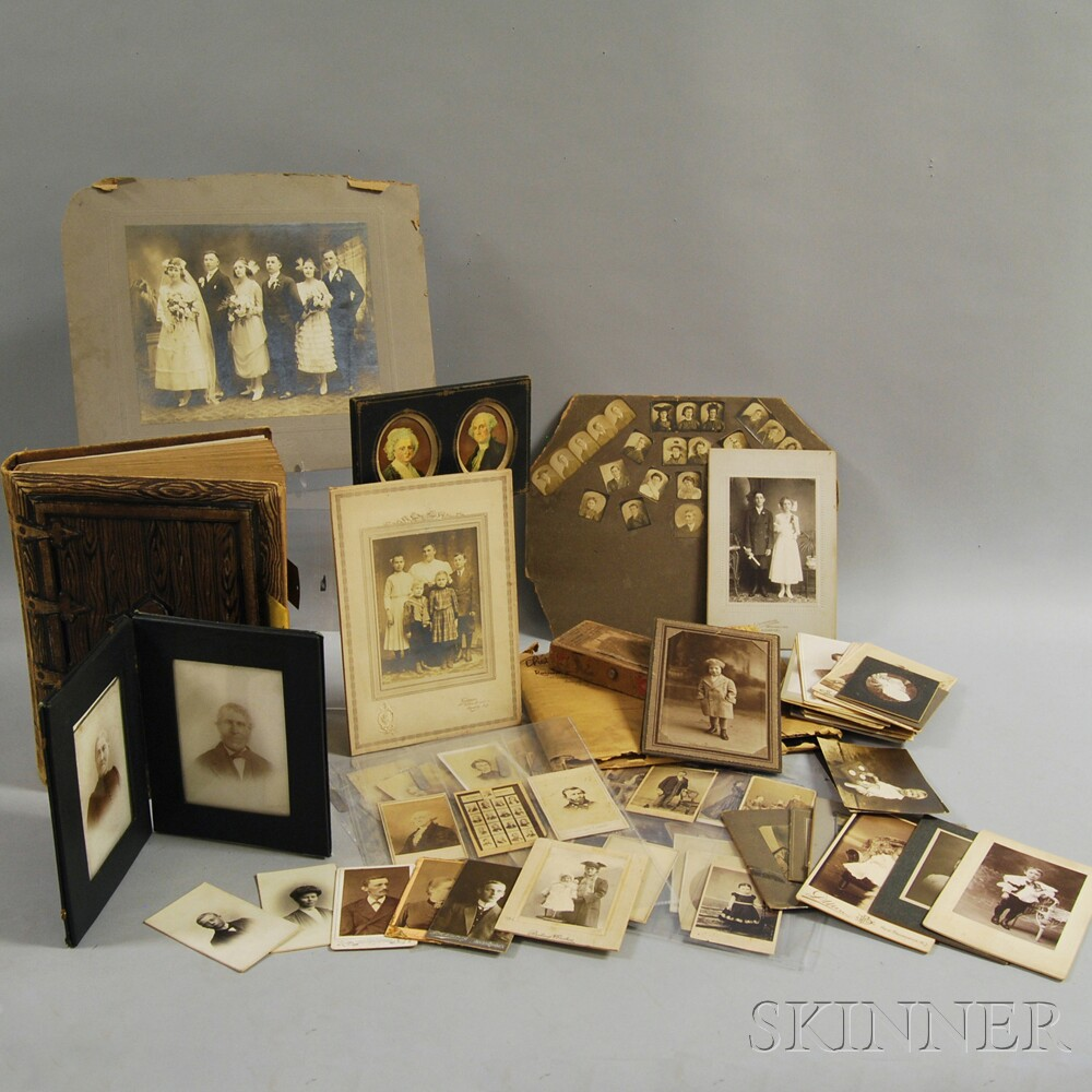 Group of Tintypes and Carte-de-visites