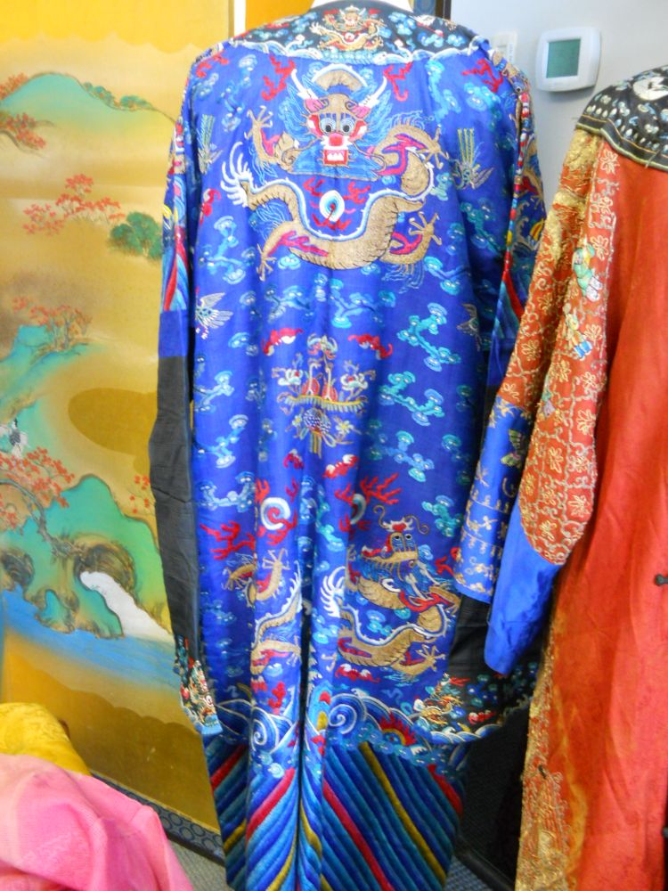 Formal Manchu Man's Dragon Robe