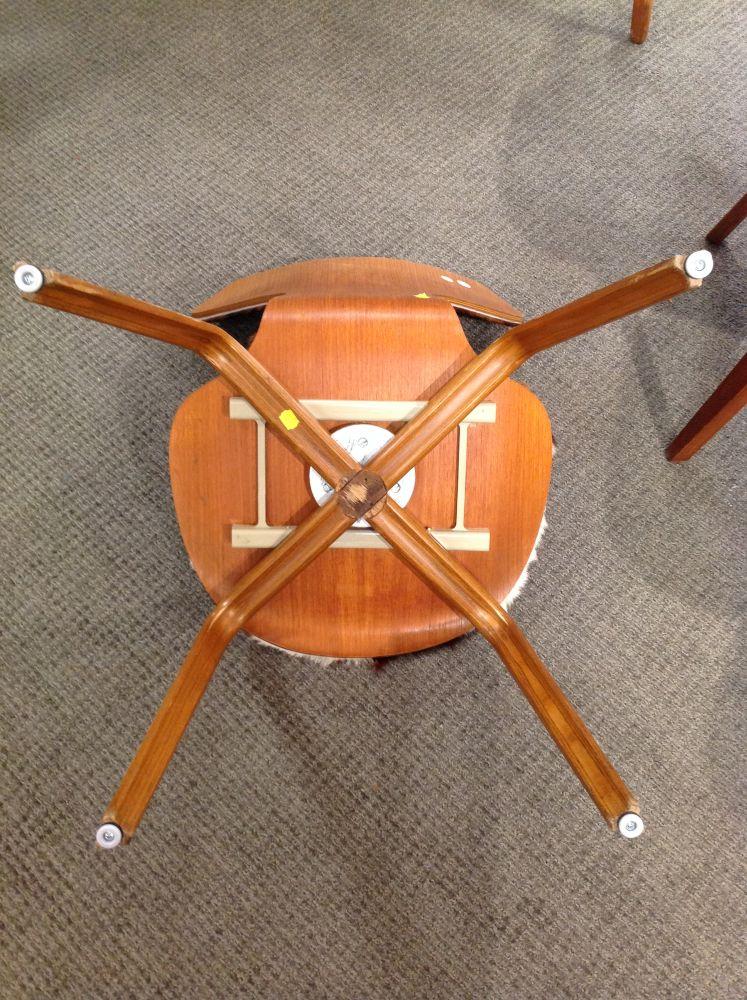 Six Arne Jacobsen Grand Prix Chairs