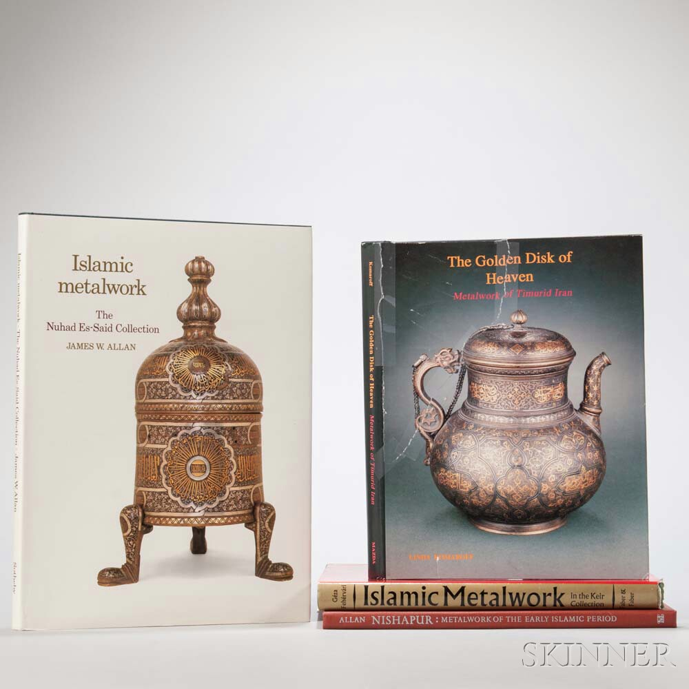 Four Books on Islamic Metalwork