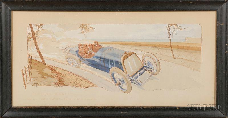 Ernest Montaut Grand Prix De L'A.C.F Vintage Manual Print
