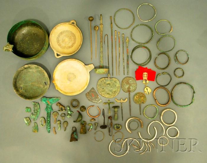 Lot of Assorted Metal Antiquities