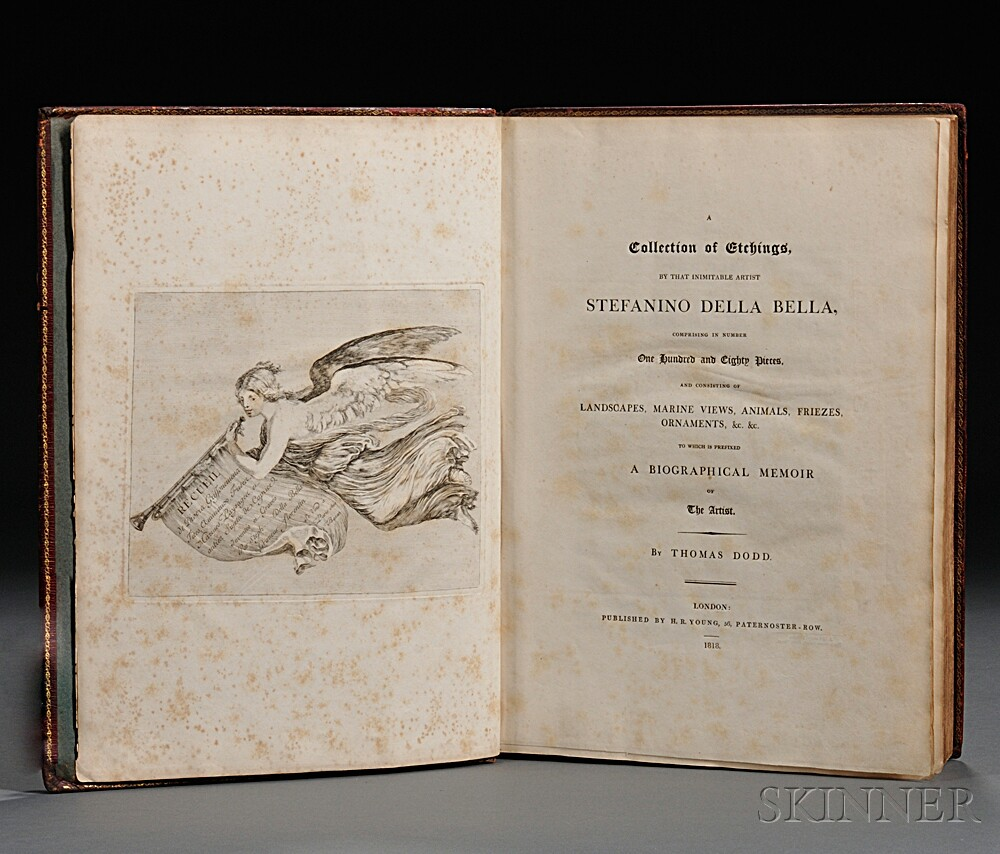 Della Bella, Stefano (1610-1664) A Collection of Etchings by that Inimitable Artist.