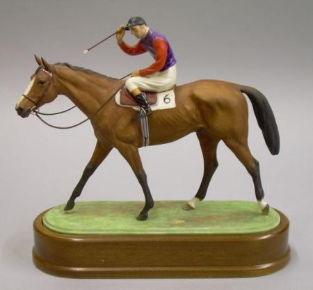 Royal Worcester Bone China Model of The Winner