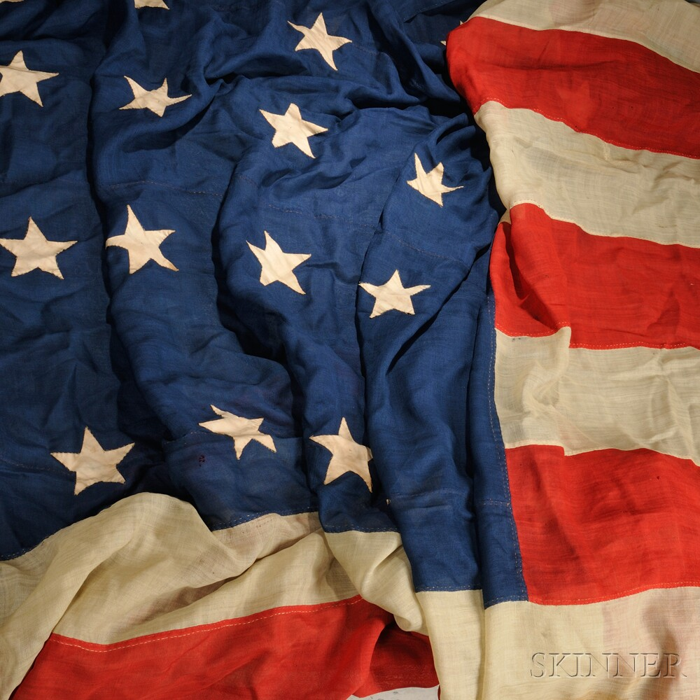 Thirty-star American Flag