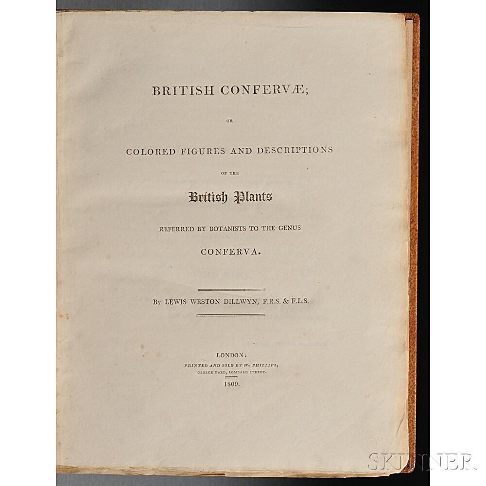 Dillwyn, Lewis Weston (1778-1855) British Confervae.