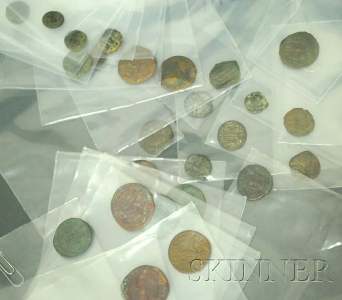 Lot of Assorted Roman Bronze Coins
