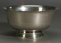 Sterling New York Racing Association Trophy Bowl