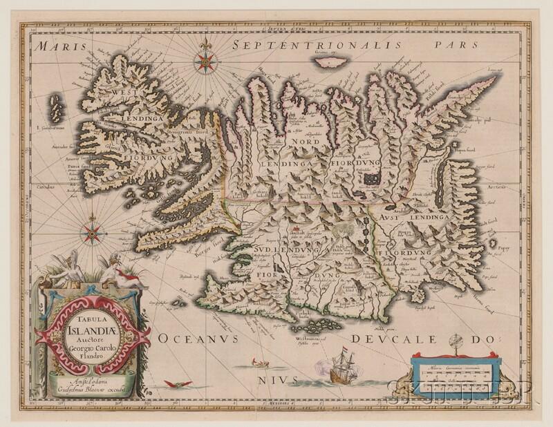 (Maps and Charts, Europe), Blaeu, Willem (1571-1638) & Blaeu Jan, (1596-1673)