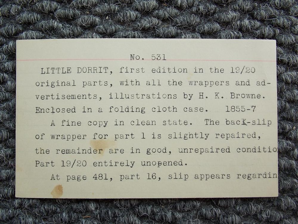 Dickens, Charles (1812-1870) Little Dorrit