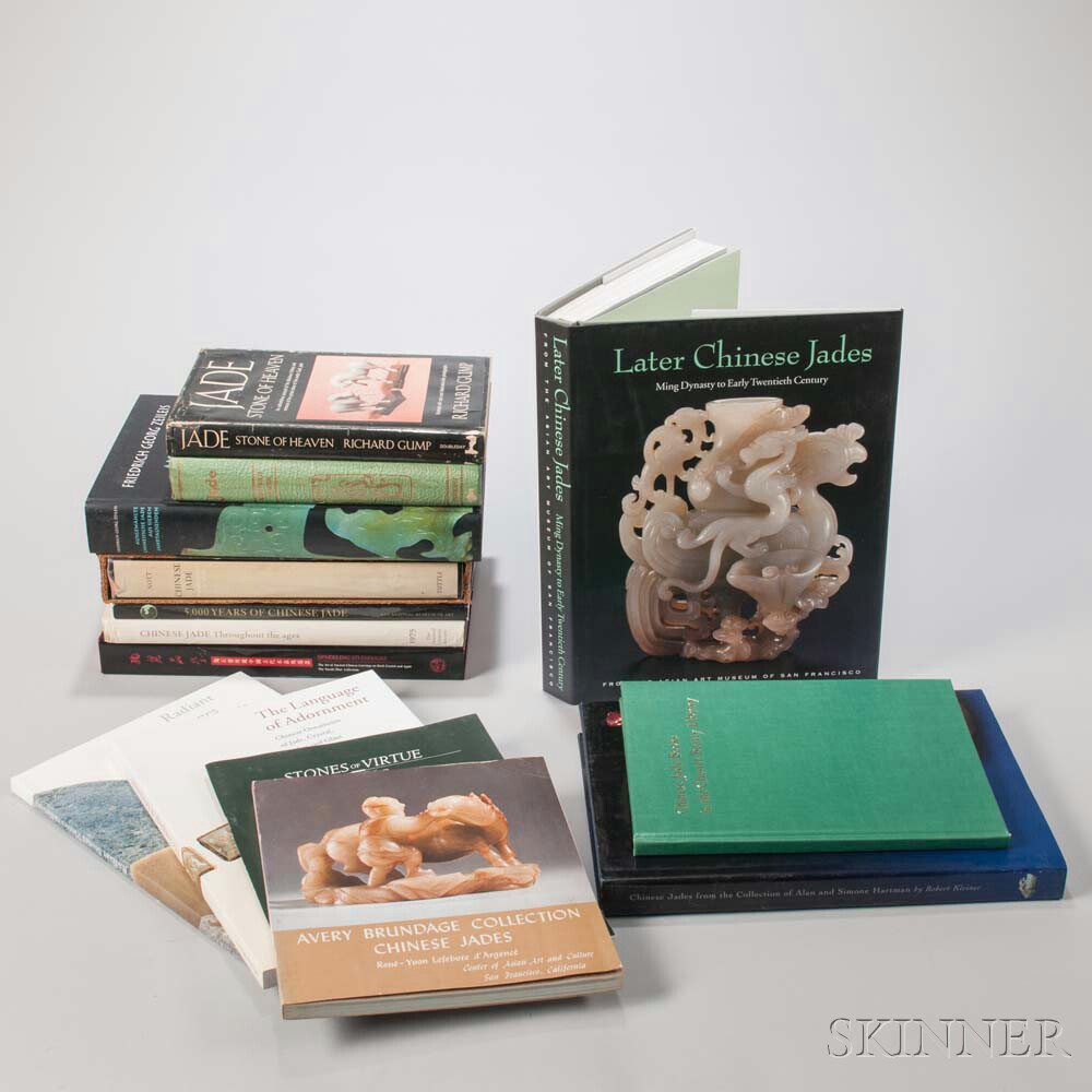 Seventeen Books on Chinese Jade