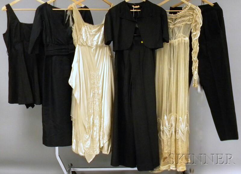 Seven Pieces of Vintage/Antique Clothing