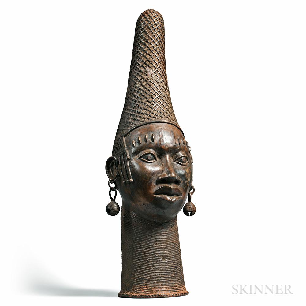Benin-style Bronze Head