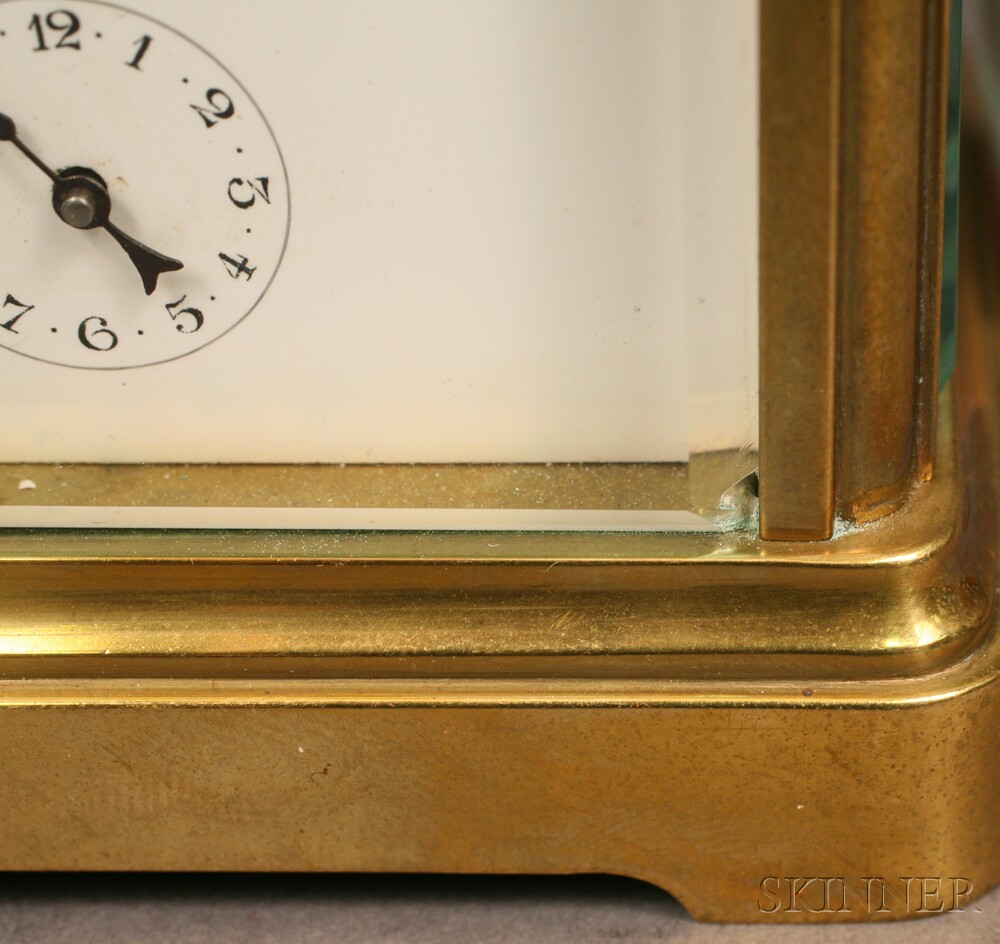Carriage Clock Retailed by Tiffany & Co.