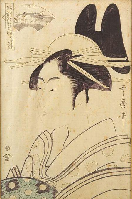 Utamaro: Portrait of a Lady