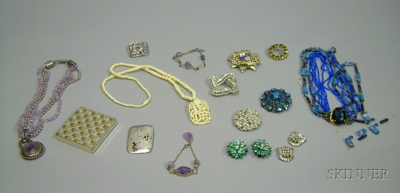 Group of Costume and Assorted Jewelry