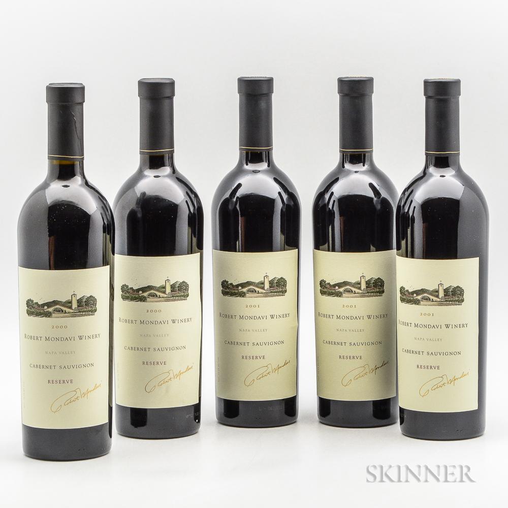 Robert Mondavi Winery Cabernet Sauvignon Reserve, 5 bottles