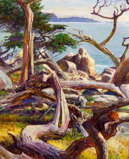 Curt Walters (American, b. 1950)    Ghost Tree, Carmel California