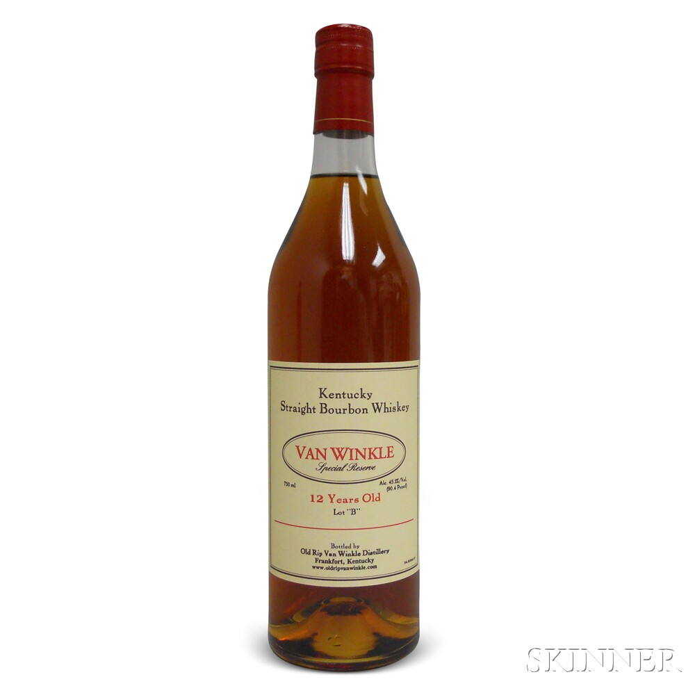 Van Winkle Special Reserve Bourbon 12 Years Old Lot B 2014, 1 750ml bottle