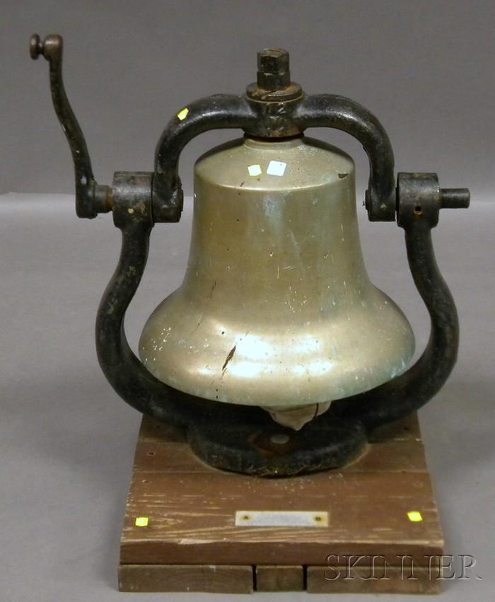 Railroad Steam Locomotive Cast Bell-metal Bell
