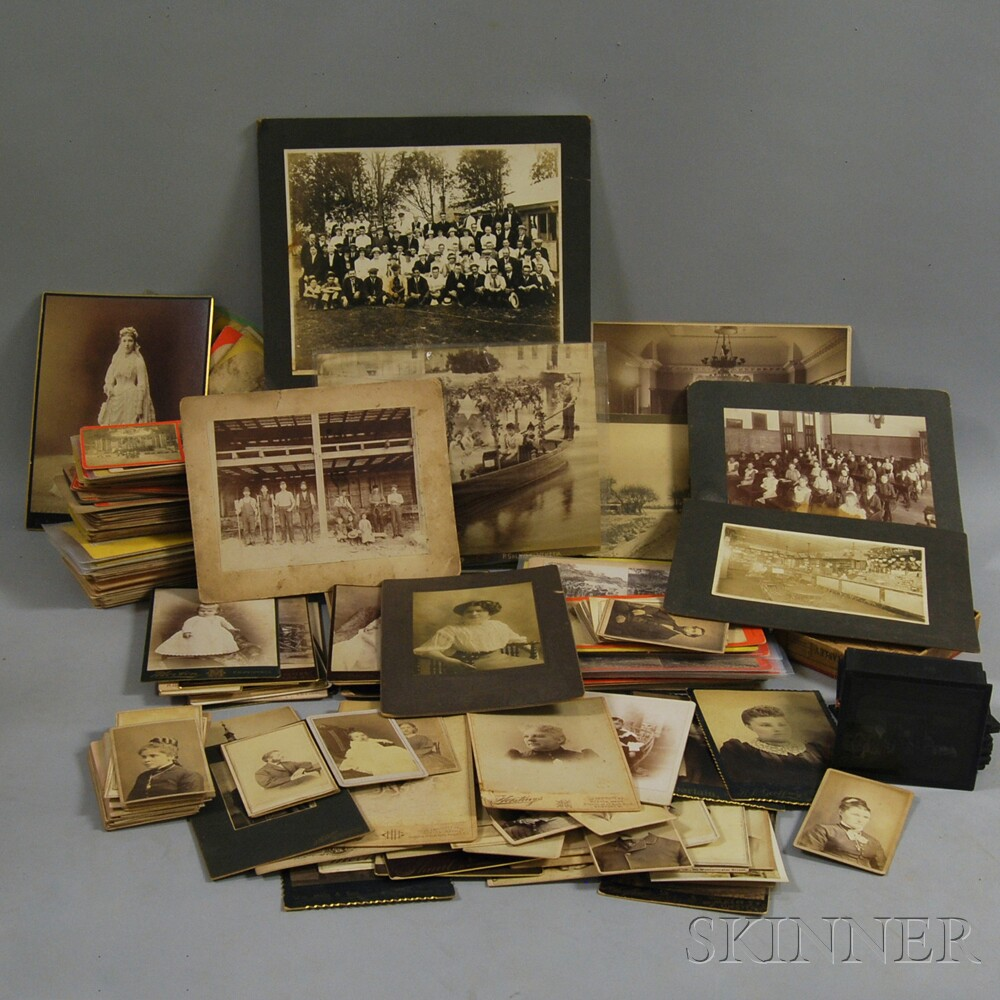 Collection of Stereoviews, Cabinet Cards, and Early Photography