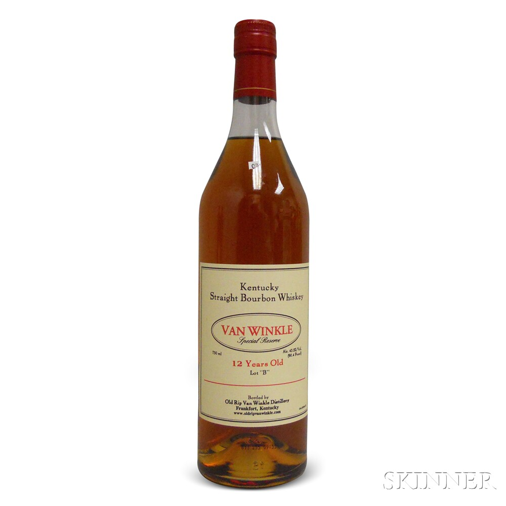 Van Winkle Special Reserve Bourbon 12 Years Old Lot B 2013, 1 750ml bottle