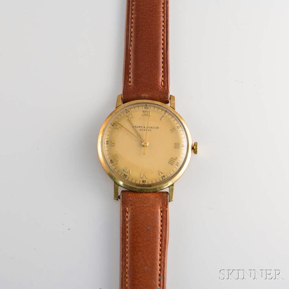 Baume & Mercier 14kt Gold Wristwatch